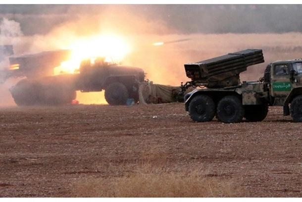 Sirijska armija prvog dana ofanzive napredovala 70 kilometara (video)