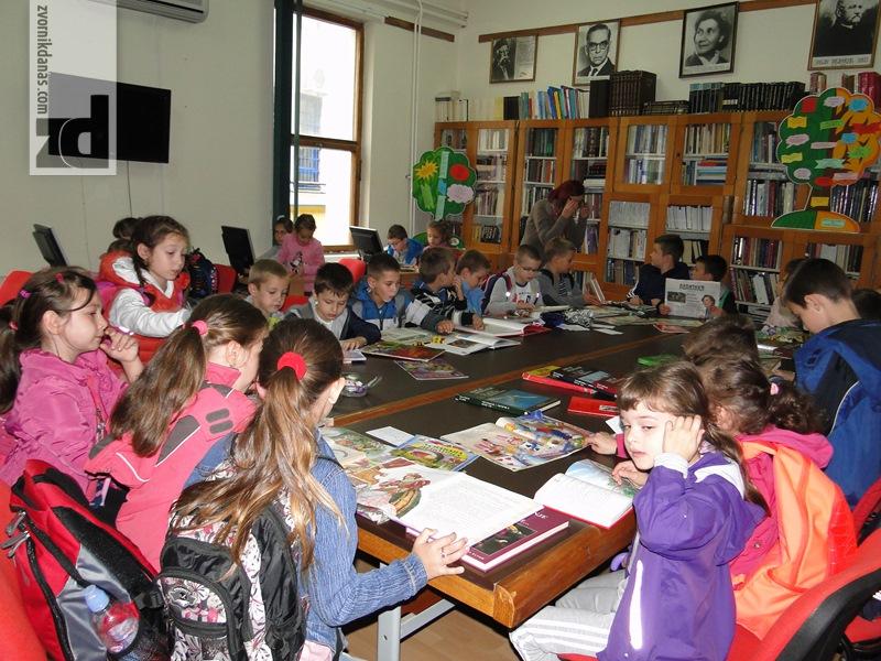 Photo of Učenici drugog razreda posjetili Narodnu biblioteku i muzejsku zbirku