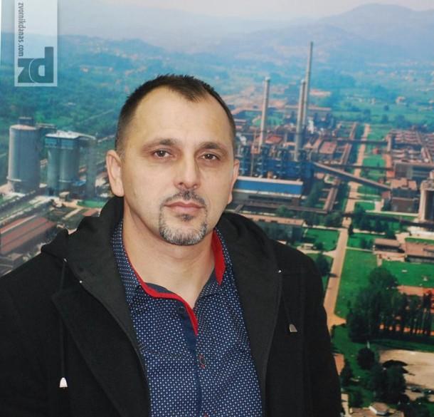 Radenko Smiljanić, predsjednik Sindikalne organizacije metalske industrije i rudarstva u Alumini