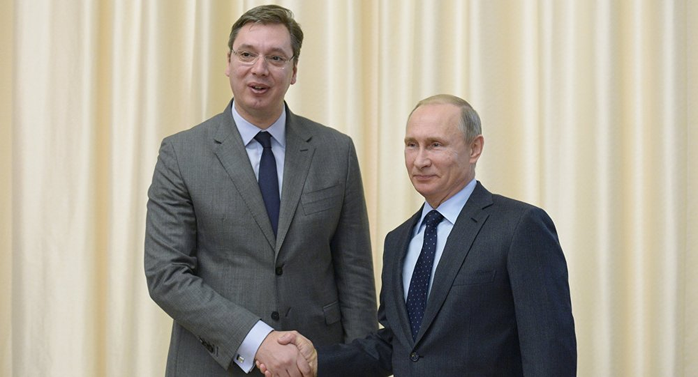 Photo of Vučić danas sa Putinom