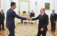 Asad zahvalan Putinu na pokretanju vazdušnih udara (video)