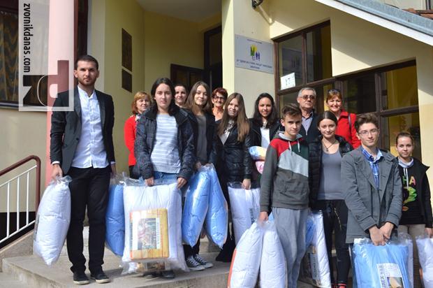 Srednjoškolci posjetili Dom za stara lica