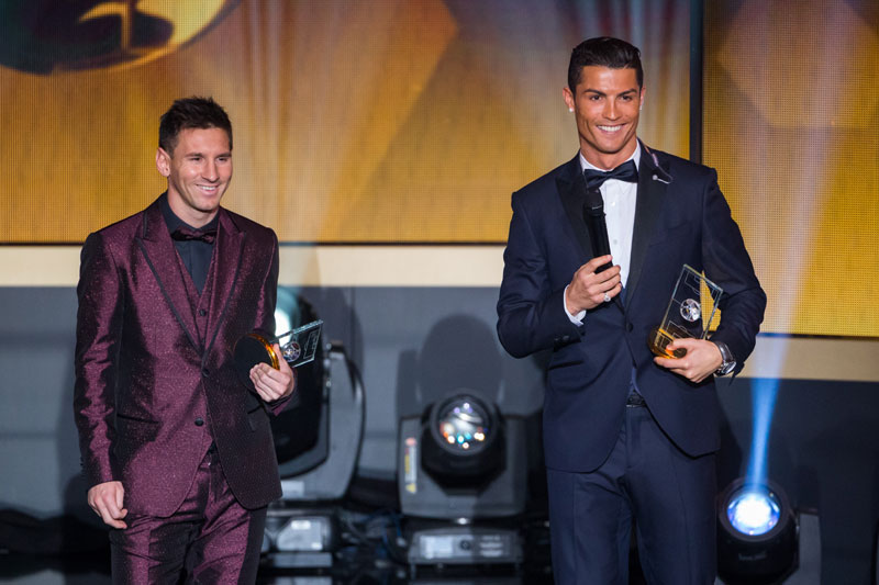 Mesi i Ronaldo predvode spisak kandidat za Zlatnu loptu