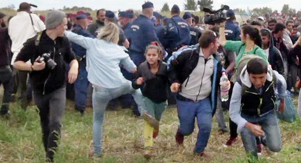 Photo of Mađarska snimateljka planira da tuži izbjeglicu i Fejsbuk