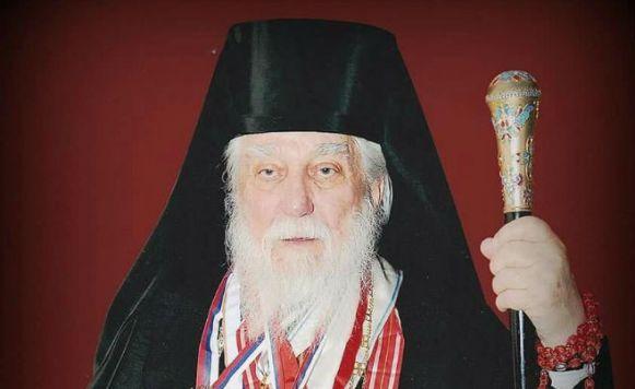 Služena zaupokojena liturgija za mitropolita Nikolaja
