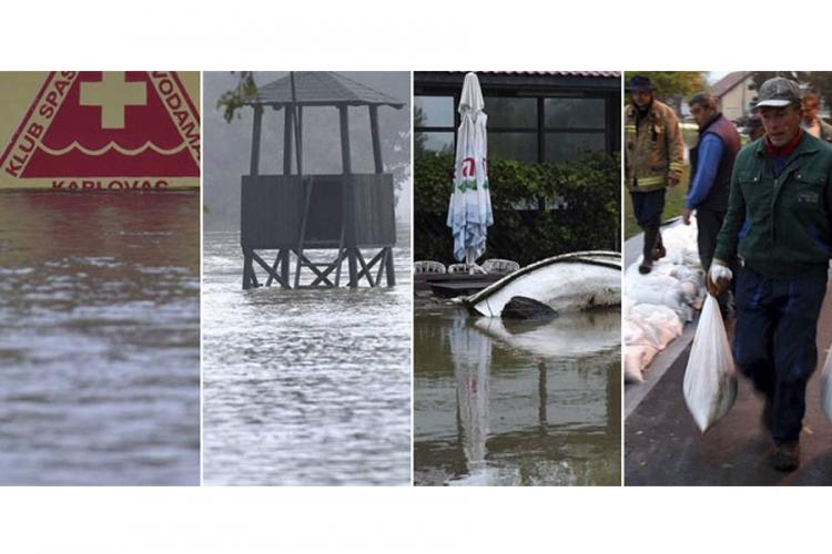 Poplave u Hrvatskoj: U Karlovcu pod vodom više od 400 kuća