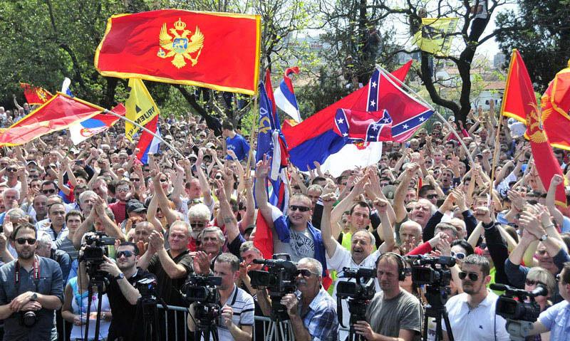 Neosnovane tvrdnje Podgorice da Moskva stoji iza demonstracija
