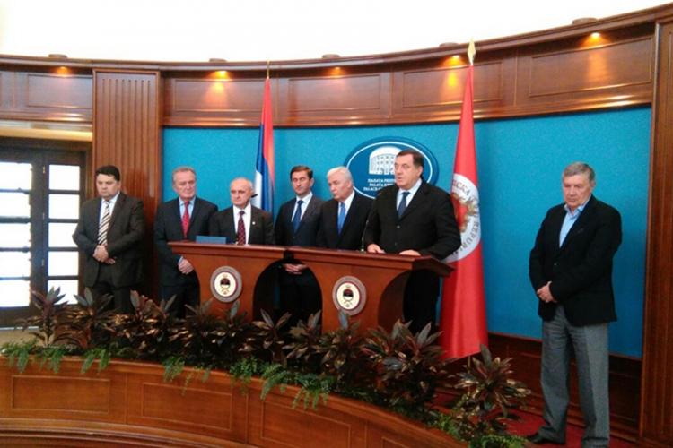 Dodik: Opozicione stranke pokazale da im je najmanje stalo do Srpske