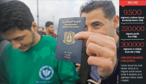 Propusnicom ISIL-a stigao do Srbije