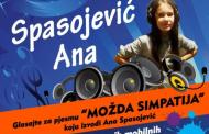 """Ana Spasojević iz Zvornika, učesnica finalne večeri festivala """"Mali kompozitor"""""""
