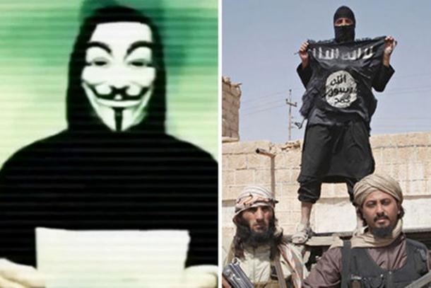 Anonimusi objavili rat Islamskoj državi (video)