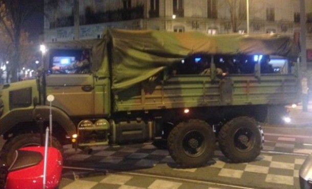 Antiteroristička akcija u Parizu (1)