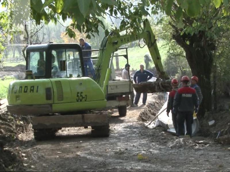 Photo of U Boškovićima radovi na sanaciji terena