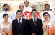 Blizanci se oženili bliznakinjama, vjenčali ih blizanci