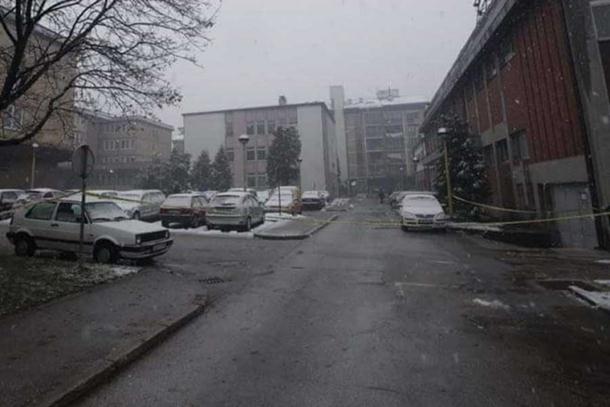 Bačena bomba na policijsku stanicu u Zavidovićima!