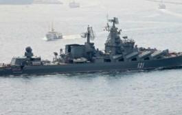 Ruska krstarica «Moskva« stigla u vode Sirije (video)
