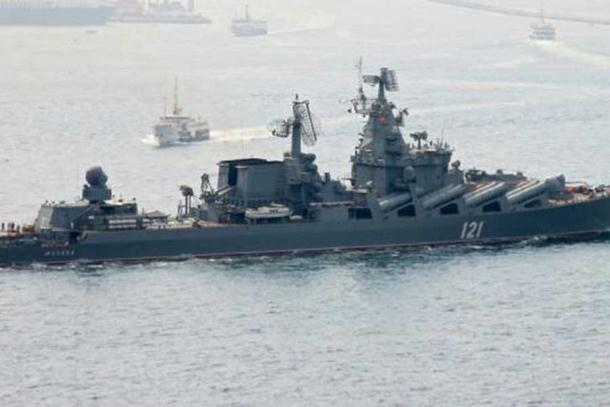 Photo of Ruska krstarica «Moskva« stigla u vode Sirije (video)