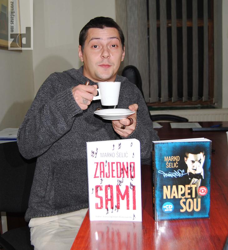 """Photo of U Zvorniku promovisane Marčelove knjige, """"Napet šou"""" i """"Zajedno sami"""""""