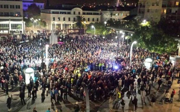 Protest u Podgorici opozicije završen bez incidenata
