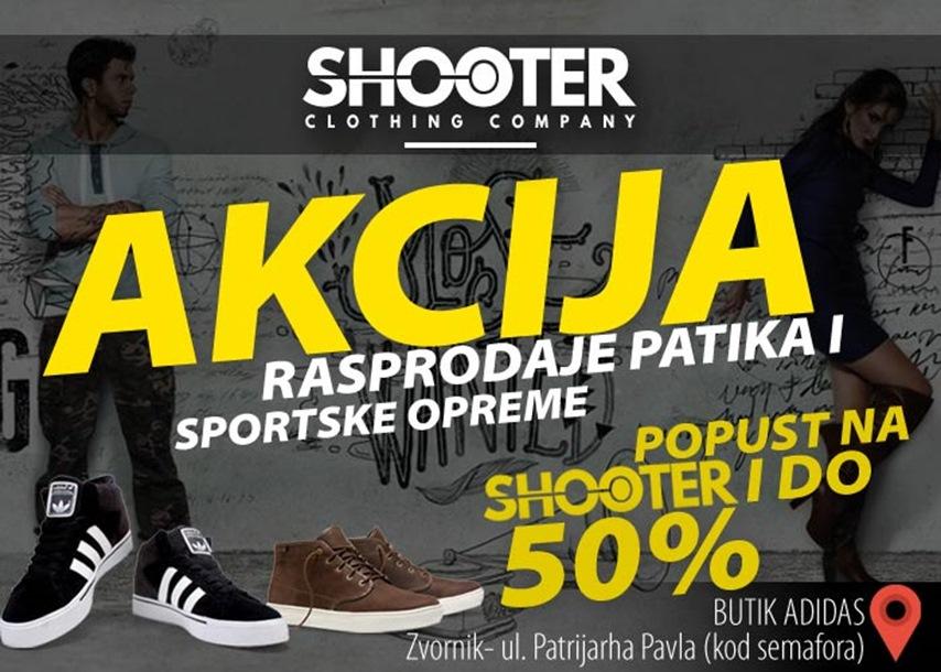 Photo of Akcija rasprodaje patika i sportske opreme u butiku Adidas