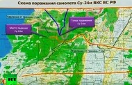 Ruski bombarder nije bio u turskom vazdušnom prostoru (video)