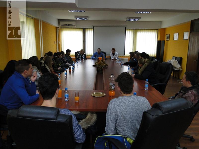 Photo of Prijem u opštini za učenike i profesore iz Sežane
