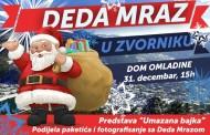 Deda Mraz u Zvornik stiže 31. decembra u 15 časova