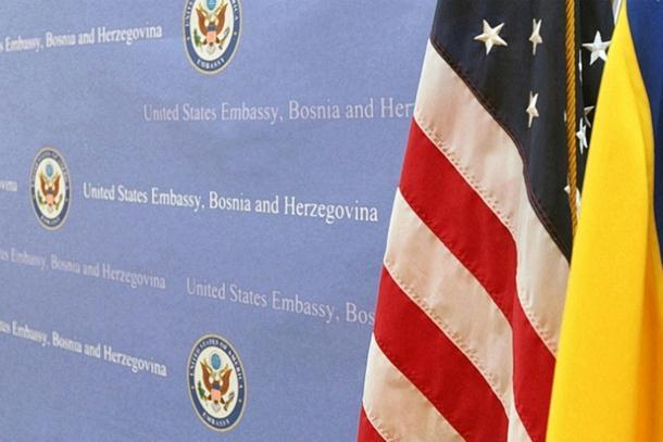 Ambasada SAD: Proslave Dana RS treba da budu u skladu sa zahtjevom Ustavnog suda BiH