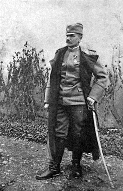 General Živojin Mišić 1912 godine