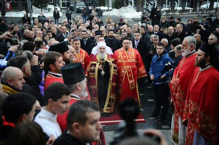 Photo of Patrijarh Irinej služi Svetu arhijerejsku liturgiju povodom Dana Republike Srpske