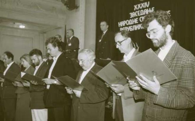 Istorijske odluke za nastanak Srpske
