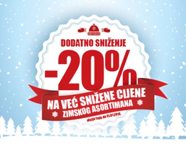 Photo of Super sniženja u Sport Vision prodavnicama!