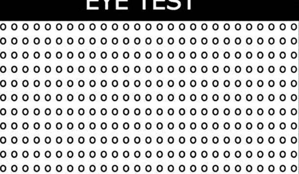 Photo of Ako ne ugledate slovo među kružićima za minut, morate da provjerite svoj vid!