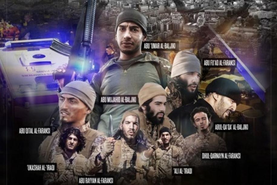Photo of U stilu holivudskih zvijezda: Devet napadača iz Pariza na plakatu Islamske države
