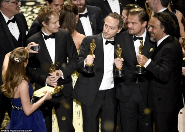 88. dodjela Oskara - Leonardo Dikaprio konačno dobio Oskara (1)