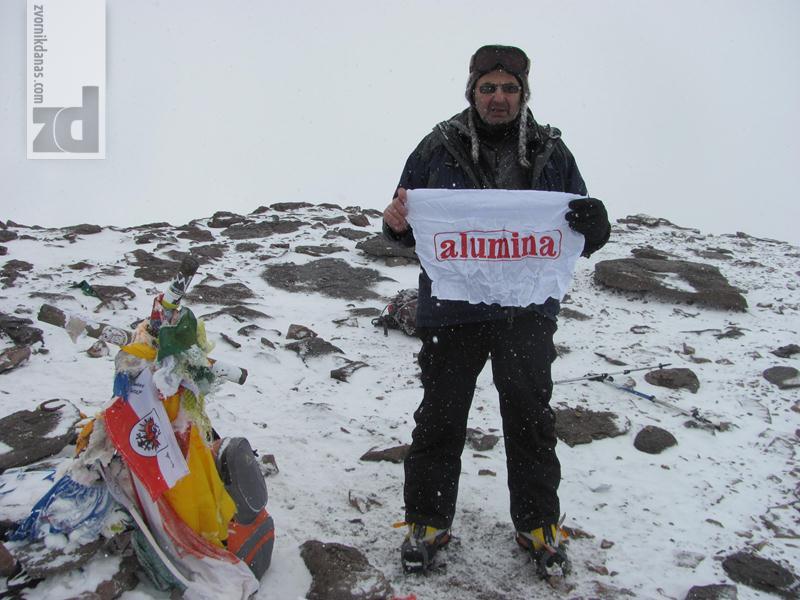 Photo of Andrija Bogićević na vrhu Akonkagve od blizu 7.000 metara! (foto)