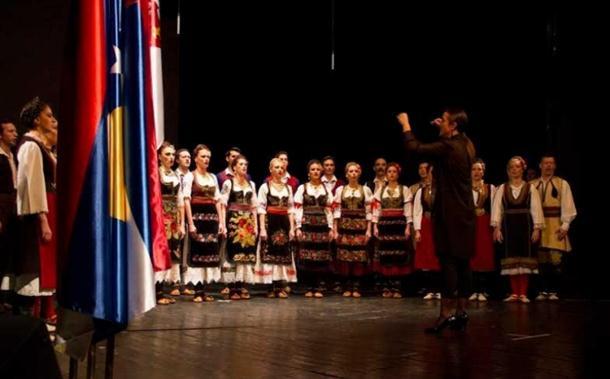 """Photo of Nastupom ansambla """"Kolo"""" obilježen dan državnostI srbije"""