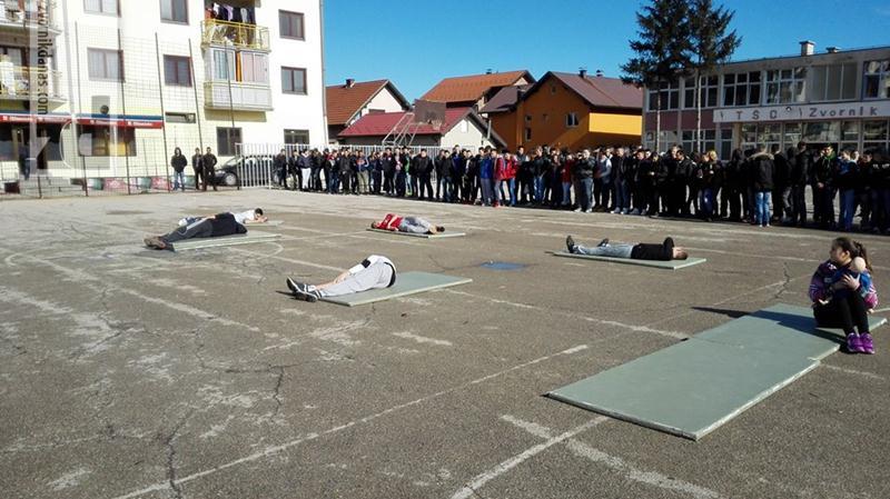 Photo of U TŠC pokazna vježba iz pružanja prve pomoći