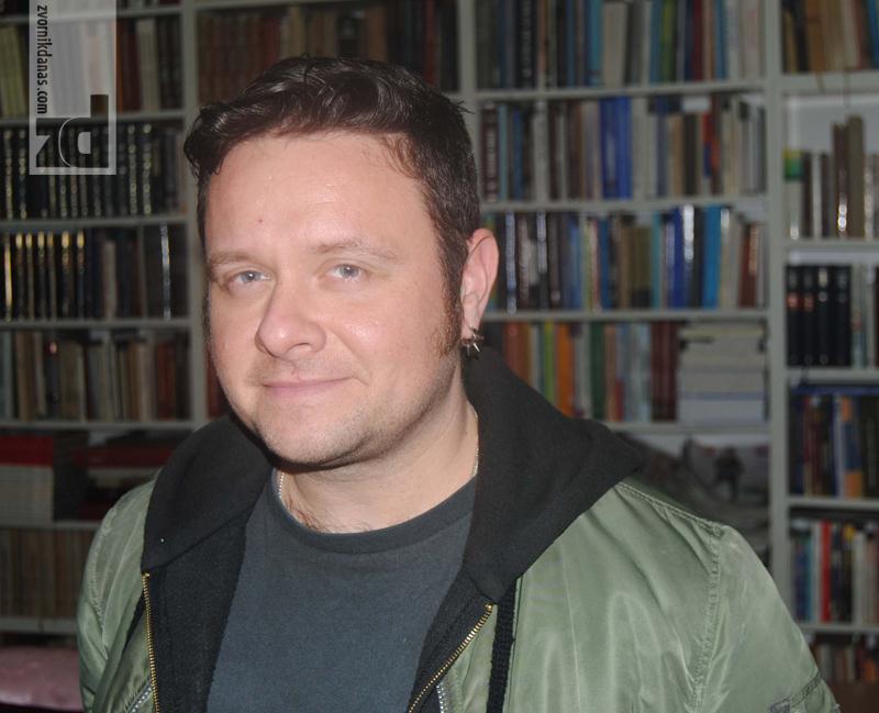 Photo of Marko Vidojković predstavio svoje romane i u Zvorniku