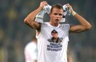 Suspenzija fudbalera zbog majice sa likom Putina
