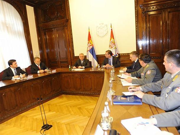 Savjet: Vojska i policija Srbije u punoj pripravnosti