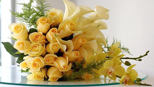 Cvjetni aranažmani od ruža (2)