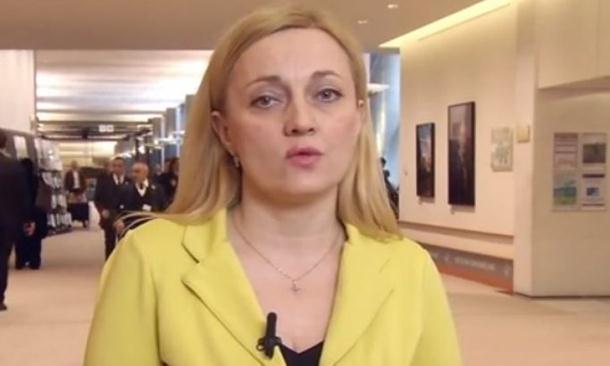Bruka hrvatske poslanice na Tviteru