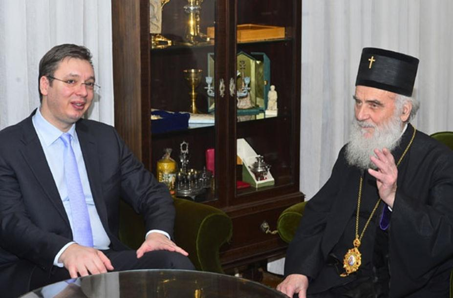 Vučić i patrijarh: Raditi na očuvanju Republike Srpske
