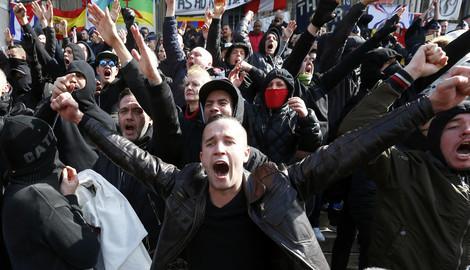 Photo of Nemiri u Briselu: Protesti na ulicama, sukob sa policijom