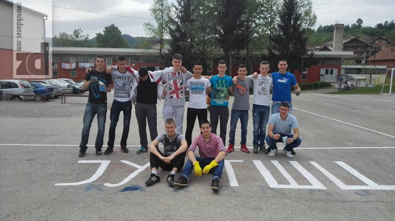 """Photo of Učenici TŠC-a u akciji """"April mjesec čistoće"""""""
