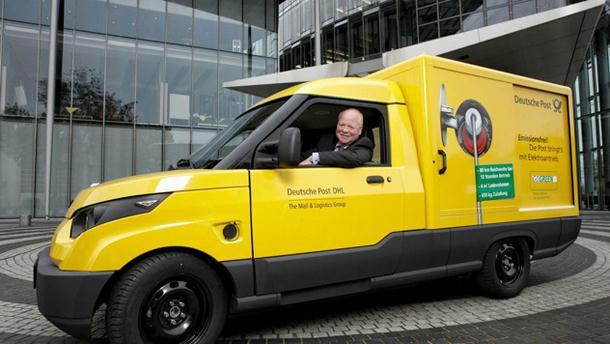 Njemačka pošta počela koristiti električne automobile za dostavu