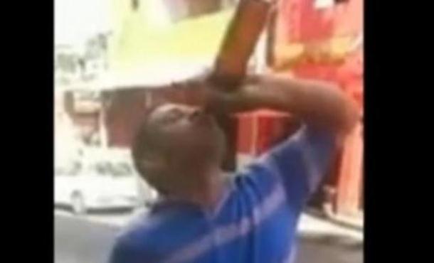 """Photo of Onesvjestio se nakon što je popio flašu piva """"na eks"""" (video)"""