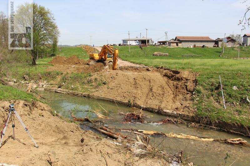 Photo of Počela izgradnja mosta na Sapni u mjesnoj zajednici Ulice