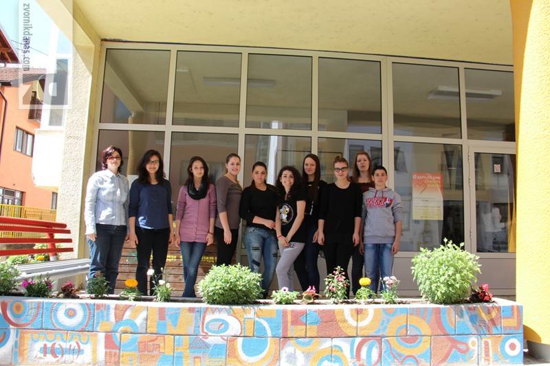 """Photo of Savjet učenika SŠC-a u akciji """"April mjesec čistoće"""""""